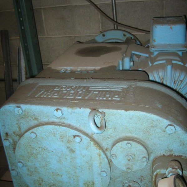 1.25 HP 1750 Input RPM, 118 Output RPM Reconditioned Philadelphia Agitator Drive