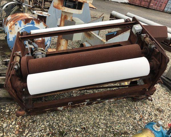 47″ Wide Reifenhauser Type FAV 120/68 Nip Roll Assembly