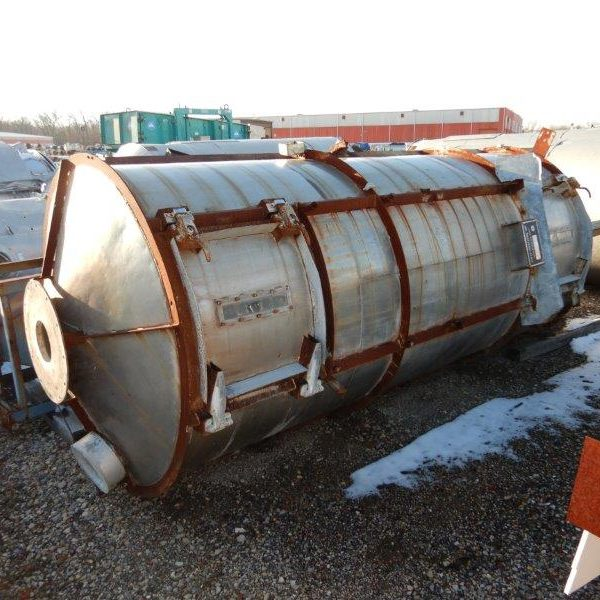 4′ X 15′ Stainless Steel Bowen Spray Dryer