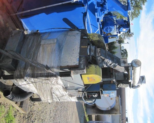 10 HP Stainless Steel Fitzmill Model 45A Comminuting Machine