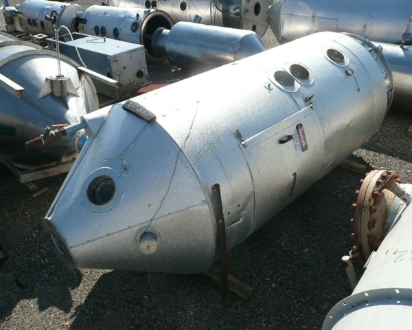 3000 Lb. Piovan Stainless Steel Drying Hopper