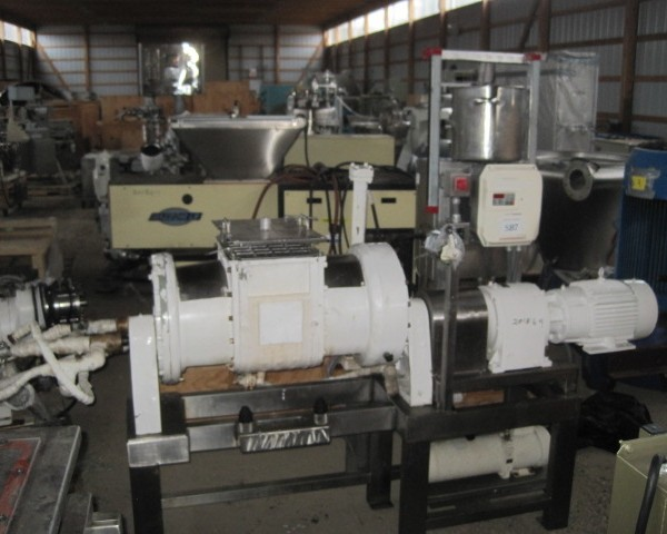 10 Gallon Patterson Stainless Steel Masticator Blade Mixer