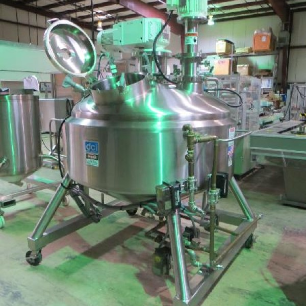 Stainless Steel Reactors Less than 500 Gallons