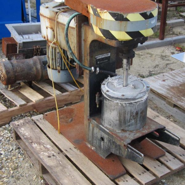 Szegvari Mdl 2362 Size 1-S Attritor Mill