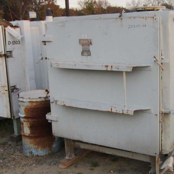 120 Sq. Foot, 10 Shelves Stokes Lined Vacuum Shelf Dryer