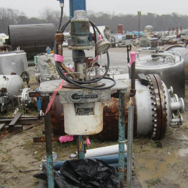 1 Gallon 600 PSI Internal, 150 PSI Jacket Stainless Steel Reactor