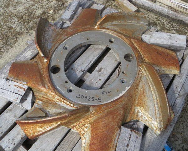 57″ Diameter Vokes Type Raised Rotor