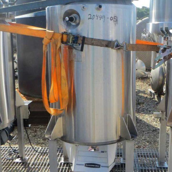 92 Gallon 45 PSI Internal, 50 PSI Jacket Stainless Steel Reactor