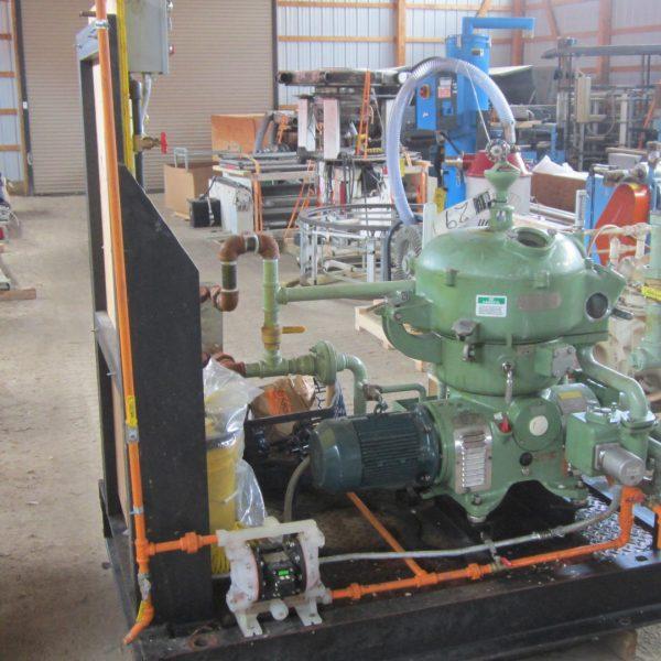 Westfalia AG OTA-14-00-066 Solid Disc Centrifuge