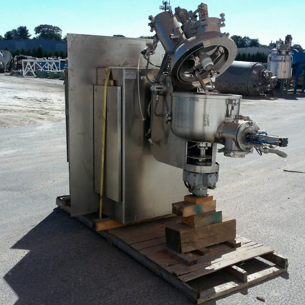 Zanchetta Model P50 Stainless Steel High Shear Granulator