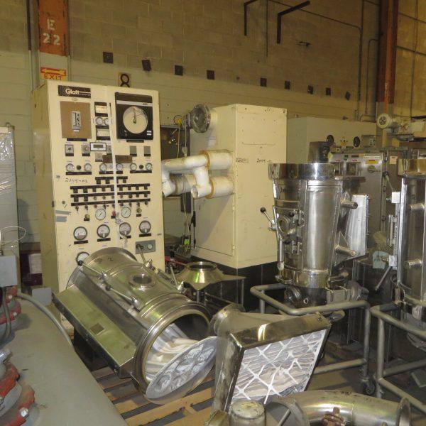 Glatt Model WSG15 Sanitary Stainless Steel Fluid Bed Dryer