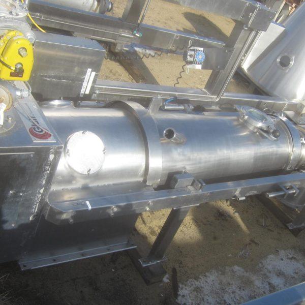 Glatt Model GPCG-5 Stainless Steel Fluid Bed Dryer