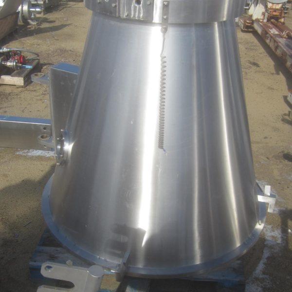 Vector Model FL-M-30EX Flo-Coater Stainless Steel Fluid Bed Processor