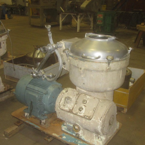 Alfa Laval Model SRG214-15HH Stainless Steel Disc Centrifuge
