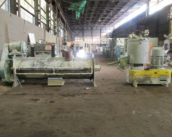 500/2400 Liter Welex/Papenmeier Stainless Steel Mixer/Cooler Combination
