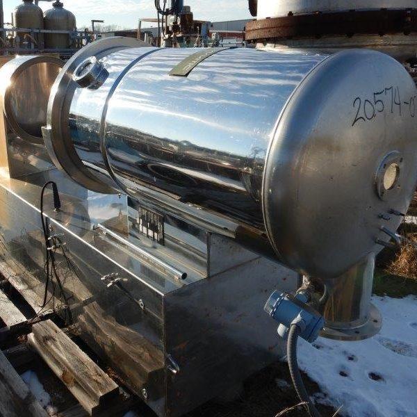 Niro Aeromat Model MP-3 Stainless Steel Fluid Bed Dryer