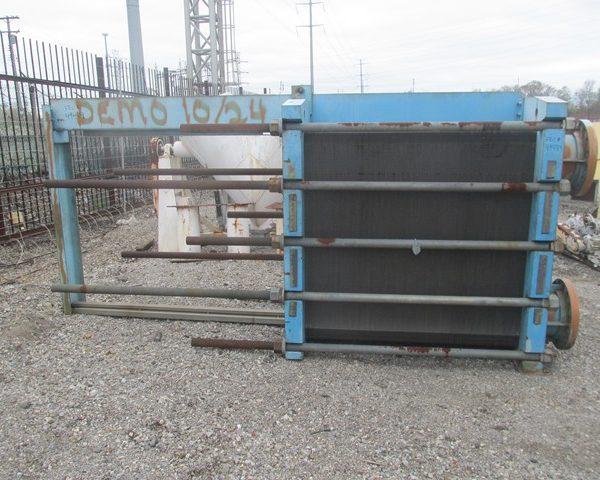 3908 Sq. Ft. Tranter Superchanger Stainless Steel Plate Heat Exchanger