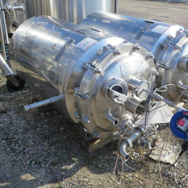 50 Gallon 25 PSI Internal, 25 PSI Jacket Stainless Steel Tank