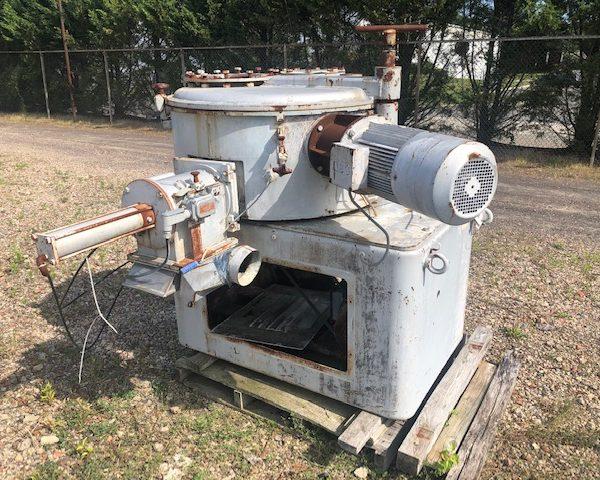 350 Litre Henschel Model HU350S Stainless Steel Universal Medium Intensity Batch Mixer