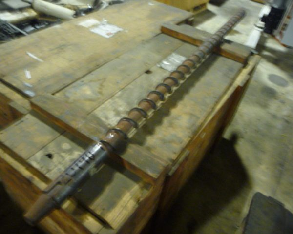 2.5″ Davis Standard Extrusion Screw