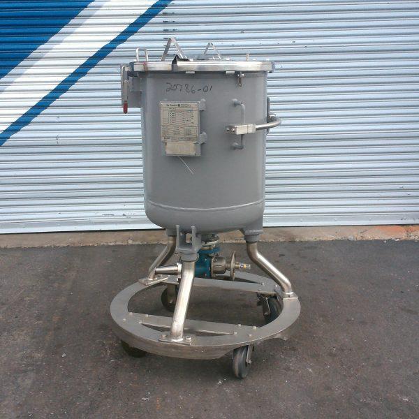 50 Gallon, 23″ X 2'4″, 100/FV, De Dietrich Glass Lined Tank