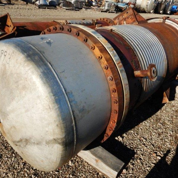 1595 Sq. Foot Kopetz Inc. Shell and Tube Heat Exchanger