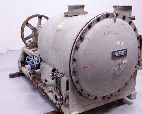 Beloit Model MR32 Horizontal Stainless Steel Pressure Screen