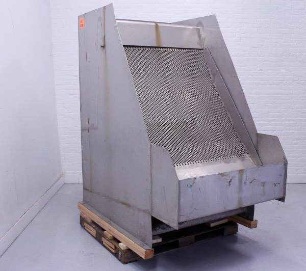 Andritz Hydrasieve Inclined Thickener Stainless Steel Dewatering Screen