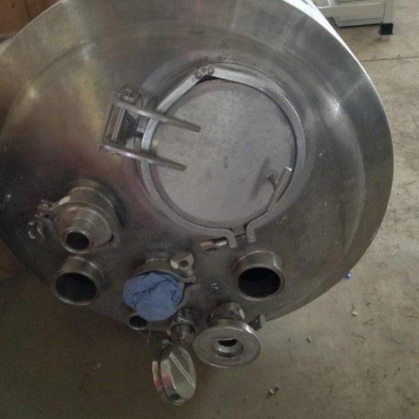 25 Gallon (100 Liter) Stainless Steel VerticalTank