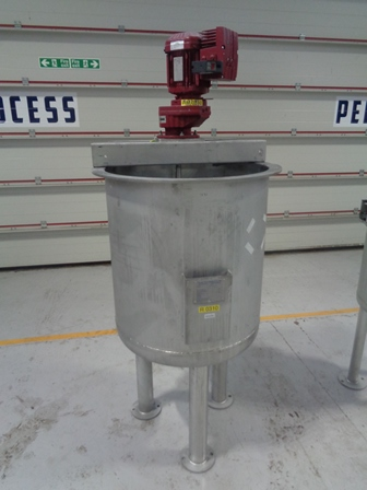 305 Litre Freude Titan GmbH 316Ti Stainless Steel Vertical Mixing Vessel