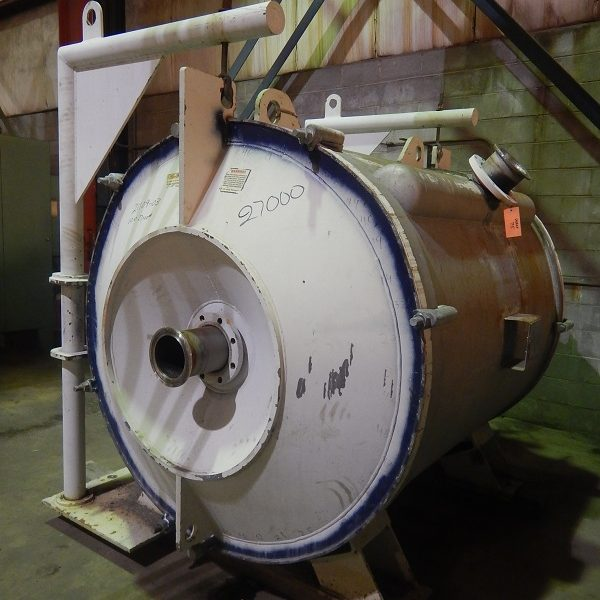 2800 Sq. Ft. Alfa Laval 304 Stainless Steel Spiral Heat Exchanger