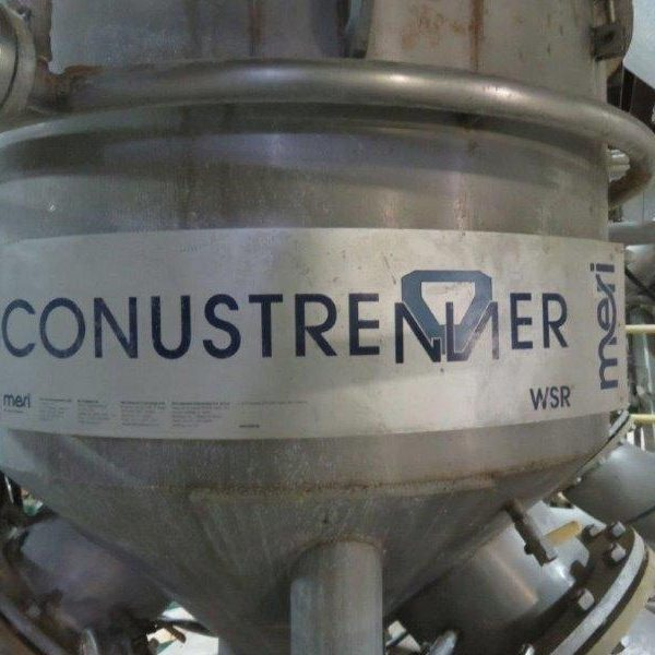 Meri Conustrenner Stainless Steel Spray Filtration System