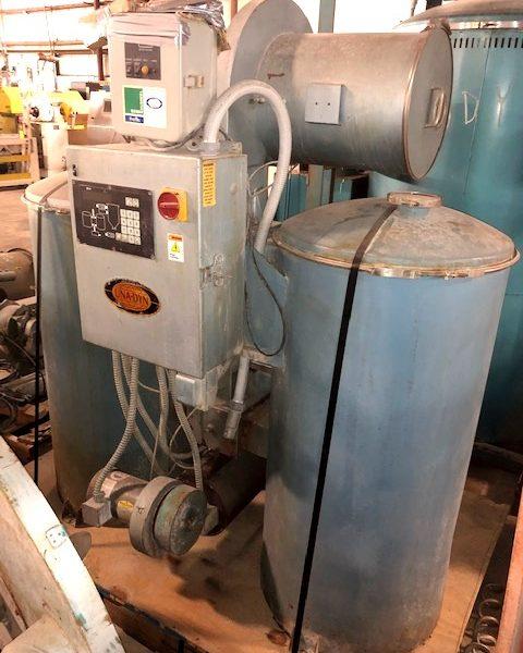 1100 Lb. Una Dyn Model DHD8 Desiccant Dryer With Steel Drying Hopper