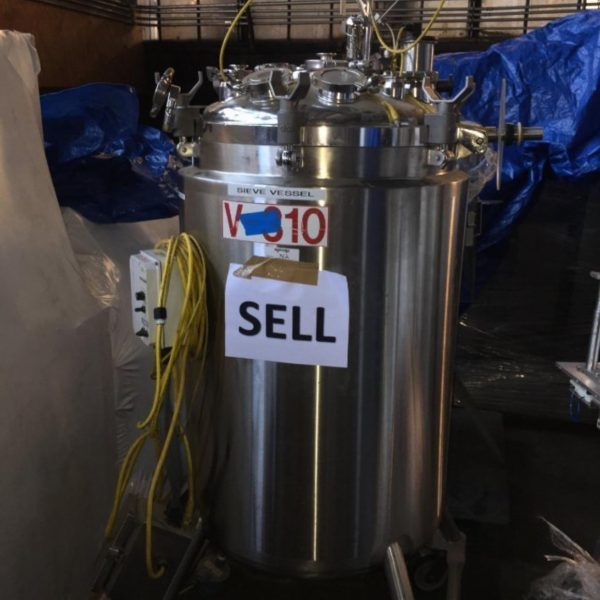 75 Gallon 35 PSI Internal 135 PSI Jacket  Stainless Steel Jacketed Vessel