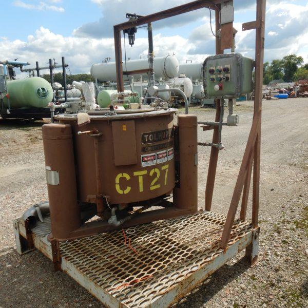 30″ X 20″ Ametek Basket Centrifuge, Top Load/Unload