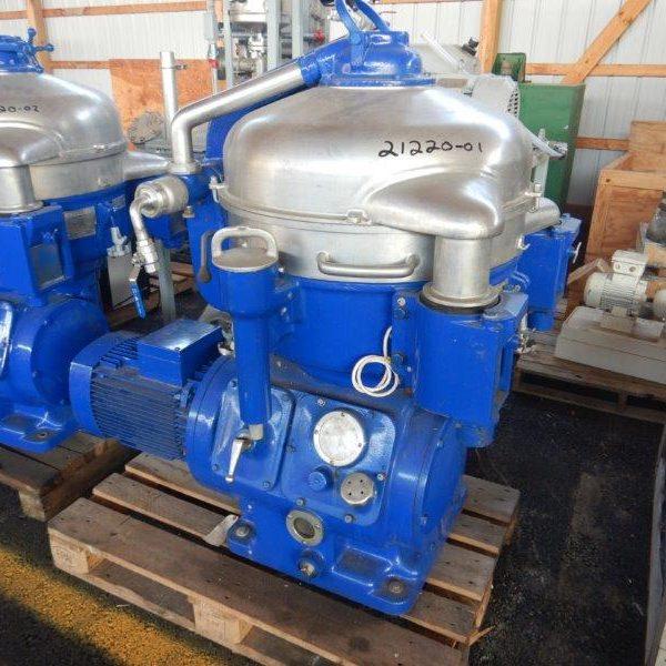 Alfa-Laval SVSX-210B-74 Nozzle Disc Centrifuge