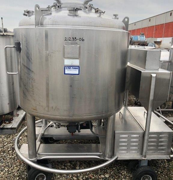 300 Gallon 316L Stainless Steel Pressure Vessel /Likwifier