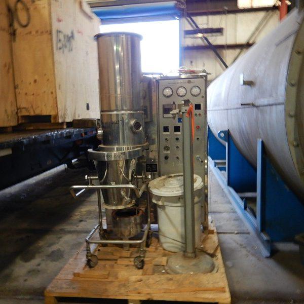 Aeromatic GEA 316L Stainless Steel Fluid Bed Dryer