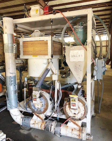 Wedco Pulverizing System Mdl SE12-TC With Blower