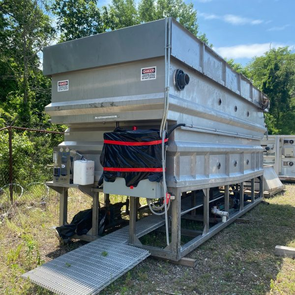 20'X7'X6′ Stainless Steel DAF (Dissolved Air Flotation) System