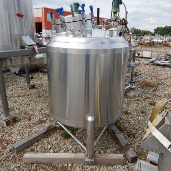 200 Gallon 316L Stainless Steel Pressure Vessel, 40 psi