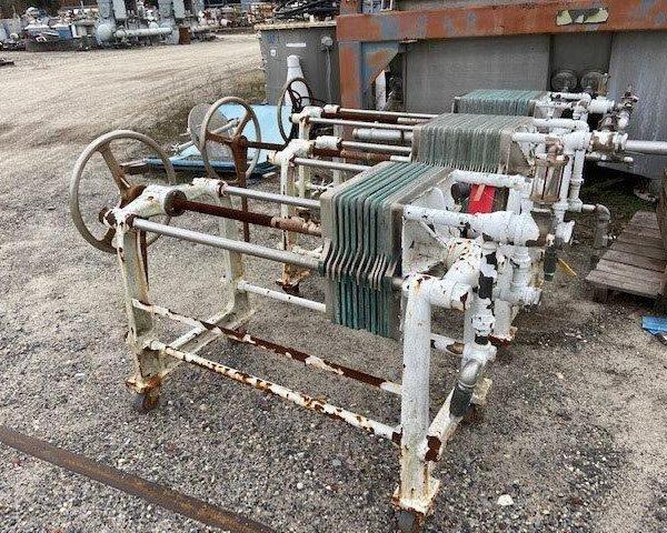 16″ x 16″ Ertel Filter Press (10) Plates