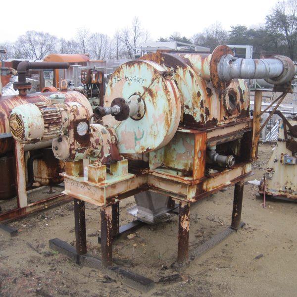 20″ X 20″ Blaw Knox Chrome Plated Single Drum Dryer