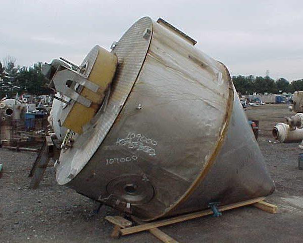 7′ X 3′ 316 Stainless Steel Niro F10 1-D-P-S-N Spray Dryer
