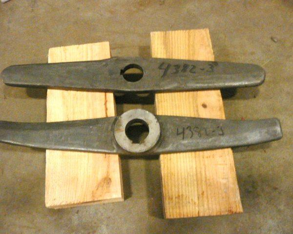 Henschel Mixer Blades 3.5 Cu.Ft. Unused
