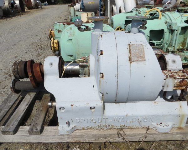 20″ Sprout Waldron Model R-20H 2-Disc Twin-Flo Refiner