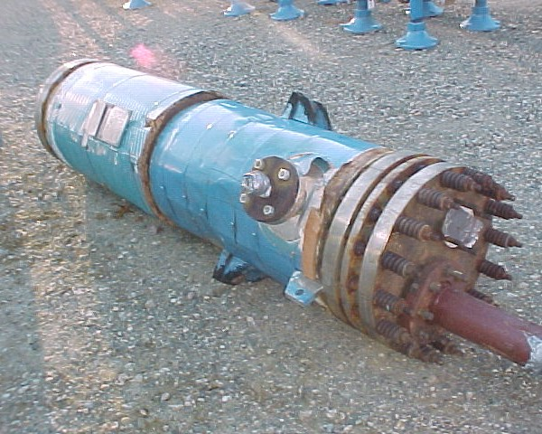 133 Sq. Ft. Kearney Keonite Cylinder Heat Exchanger