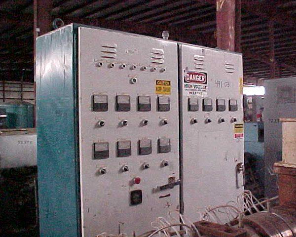 Extruder Temperature Control Panel