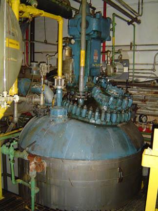 1,000 Gallon 100 FV Internal, 90 Jakcet Pfaudler Glass Lined Reactor