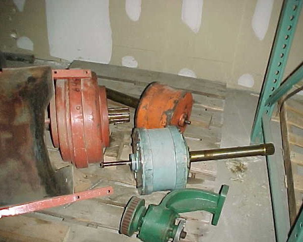 Rebulkt Alfa Laval Gearbox